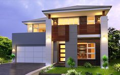 Allure 35 - Double Level - by Kurmond Homes - New Home Builders Sydney NSW