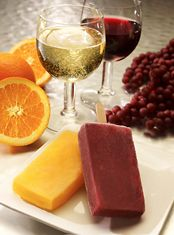 Wine. On a stick.  Three local guys with a love for wine and popsicles decided to try fusing the two into frozen alcoholic treats. So, they got a bunch of vino, fresh fruit and an industrial-sized freezer, and invented SocialIce Winesicles.