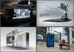 ТОП-10 инновационных автобусных остановок