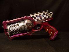 Nerf Maverick Borderlands Torgue Painted Purple Theme w Checkers Must See | eBay