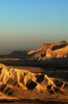 The Negev Desert, Israel Beautiful Photos Of Nature, Nature Pictures, Places Around The World, Around The Worlds, Israel Travel, Holy Land, The Great Outdoors, Places To See, Monument Valley