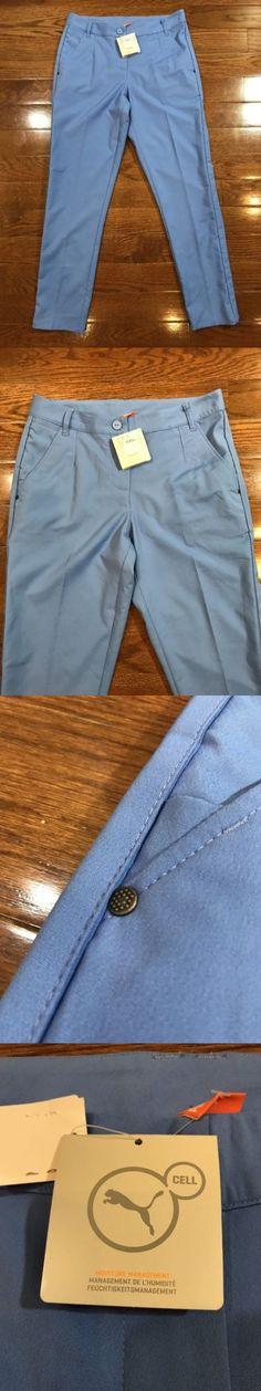 Pants 181148: Women S Size 4 Puma Golf Pants Solid Blue Ultramarine 568365-03 -> BUY IT NOW ONLY: $34.99 on eBay!