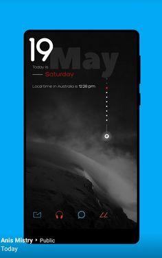 Mobile Ui Design, App Ui Design, Web Design, Android Theme, Android Ui, Fluent Design, Nova Launcher, Mobile App Ui, Apple Wallpaper