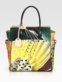 Reed Krakoff Atlantique Canvas & Leather Tote Bag