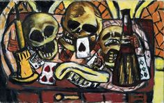 Max Beckmann  Not a protest but a reflection of the times in which he lived.