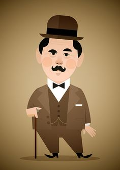 Poirot   Stanley Chow Illustration of Manchester England