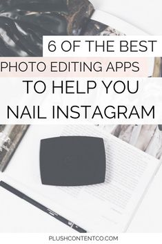 Want to know how to create gorgeous photos for your Instagram? It's ALL in the editing babe! I've listed 6 of the best photo editing apps to use to help you increase your engagement on Instagram through imagery. #lightroom #vscocam #vscocamphotos #photoed