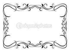wektor kwiatowy ozdobne dekoracyjne ramki — Ilustracja stockowa #8798585