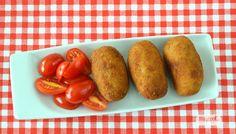 Croquetas de pollo asado - http://www.mycookrecetas.com/croquetas-de-pollo-asado/