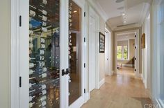 Take a look at this wine closet!