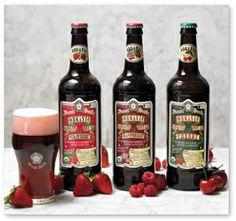 Samuel Smith's organic fruit beers - the strawberry...goes down like kool-aid, sooooo good.