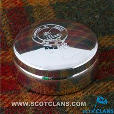 Elliot Clan Crest Trinket Box