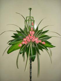 Tropical Flower Arrangements, Flower Arrangement Designs, Church Flower Arrangements, Beautiful Flower Arrangements, Elegant Flowers, Beautiful Flowers, Altar Flowers, Church Flowers, Funeral Flowers