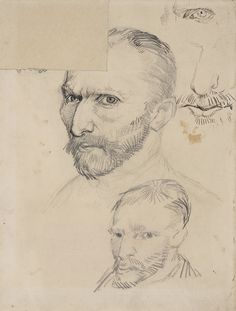 Self-portraits, Vincent Van Gogh, january 1887