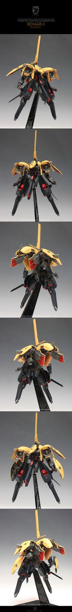 1/144 [C3xHobby] Resin Kit Remodeling by HERO: RX-124 Gundam TR-6 Kehaar-II CORPUSCULUM – WONDWORT – EWAC TYPE Mega-Full