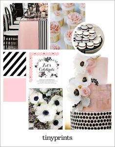 We are loving this elegant black and pink birthday party theme! Whether it's your baby's first birthday or your own birthday, this theme is a guaranteed success. 35th Birthday, Adult Birthday Party, Pink Birthday, Baby First Birthday, Birthday Party Themes, Unique Invitations, Custom Cards, Birthday Party Invitations, Mood Boards