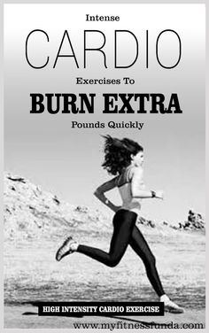 Have you ever thought which Cardio Workouts will help you to burn extra pounds faster? #cardio #fitness #exercise #fitness_exercise #fitness_tips #workouts #cardio_workouts #health_fitness