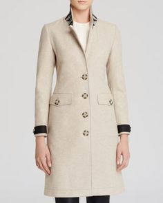 Burberry Brit Steadleigh Wool Blend Coat | Bloomingdale's