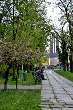 Charming Bucharest: Spring in Carol I Park Artistic Photography, More Photos, Romania, Sidewalk, Charmed, Park, Spring, Bucharest, Art Photography