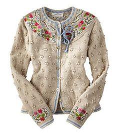 Bilderesultat for bordado no trico Gilet Crochet, Knit Crochet, Cardigan Sweaters For Women, Sweater Cardigan, Cardigans, Knit Sweaters, Ugly Sweater, Pretty Outfits, Beautiful Outfits