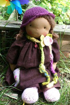 Waldorf Doll  Organic Waldorf Doll  Steiner Doll  by tillytilda, $239.00