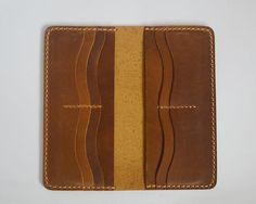 Billetera de cuero hecho a mano cartera para hombre por Yesterwish