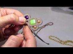 sutasz - duze kolczyki soutache - pełny tutorial Soutache Tutorial, Earring Tutorial, Diy Bead Embroidery, Soutache Earrings, Beads And Wire, How To Make Beads, Shibori, Fashion Earrings, Jewelry Crafts