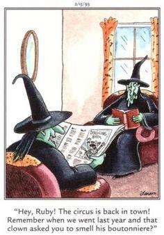 """The Far Side"" by Gary Larson. Far Side Cartoons, Far Side Comics, Funny Cartoons, Laugh Cartoon, Gary Larson Far Side, Gary Larson Cartoons, Halloween Fun, Halloween Humor, Halloween Cartoons"