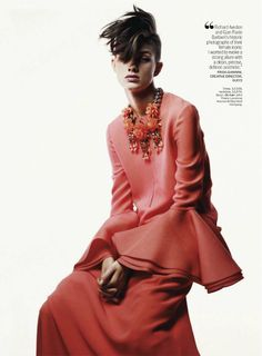 GAME CHANGE: HARMONY BOUCHER BY DANILO GIULIANI FOR US MARIE CLAIRE JANUARY 2013