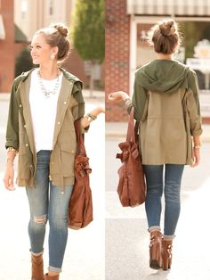 Army jacket #swoonboutique