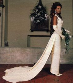 Young Iman | Postscript #1: Why Did David Bowie & Iman Have A Church Wedding?