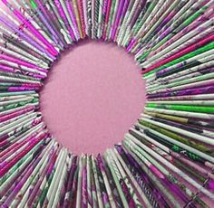 1000 images about magazine crafts on pinterest recycled for Rolled magazine paper crafts
