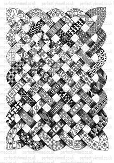 Tangle 025 by perfectly4med, via Flickr