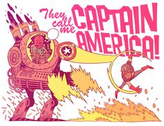 Captain America by Dan Hipp