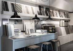 Parma showroom #Tiles #Space