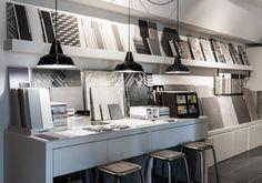 Parma showroom #Tiles #Space