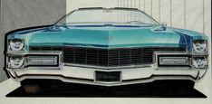 retro-awesome « All The Sketches.  Cadillac Eldorado.