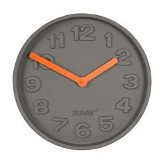 Concrete Time clock from Zuiver