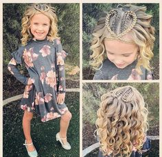 574 likes, 29 comments - Ashley Cardon ( - Tiny Kids Bedroom Ideas Baby Girl Hairstyles, Princess Hairstyles, Braided Hairstyles, Cool Hairstyles, Hairdos, Childrens Hairstyles, Toddler Hairstyles, Two French Braids, Girl Hair Dos