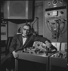 Rudy Van Gelder is, quite simply, the greatest recording engineer in jazz history. A one-time ham radio operator, Van Gelder was initially an optometrist by day; as a hobby, he set up a studio in his parents' living room in Hackensack, NJ, and began recording local jazz musicians. In the summer of 1959, Van Gelder moved his operations to a larger studio in Englewood Cliffs and left his day job in favor of recording full-time. And the rest is history...