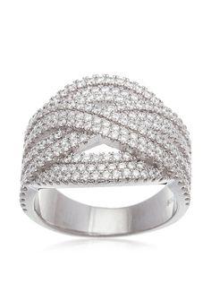 Bliss White Gold Cubic Zirconia Crossover X Ring, http://www.myhabit.com/redirect/ref=qd_sw_dp_pi_li?url=http%3A%2F%2Fwww.myhabit.com%2Fdp%2FB01E3W28VY%3F