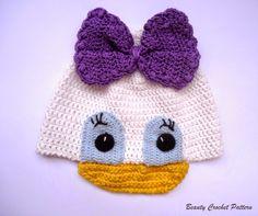 Beauty Crochet Pattern: DAISY CROCHET HAT PATTERN