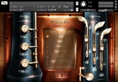 User Interface (UI) for Music Software Instrument by AK82