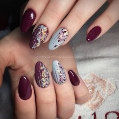 How to succeed in your manicure? - My Nails Elegant Nail Designs, Elegant Nails, Christmas Nail Art Designs, Christmas Nails, Christmas Design, Autumn Nails, Winter Nails, Red Nails, Hair And Nails