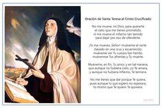 Oración de Santa Teresa al Cristo Crucificado