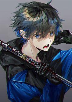 - - Please visit our website to support us! Anime Neko, Anime Oc, Chica Anime Manga, Anime Eyes, Manga Boy, Kawaii Anime, Dark Anime Guys, Cool Anime Guys, Handsome Anime Guys