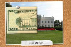 White House - Dollar Bill