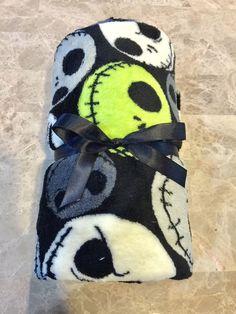 "Nightmare Before Christmas 50""x60"" Fleece Throw Blanket Jack Skellington Disney  #Disney #Traditional"