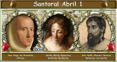 Vidas Santas: Santoral Abril 1
