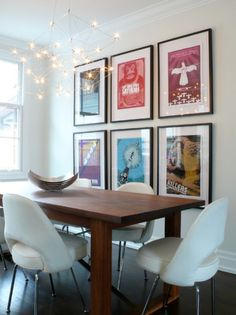 Decorating Apartments on a Budget -- I like the tip about using fabric to create a non-adhesive colorful border to a room. The living room might have this in its future!